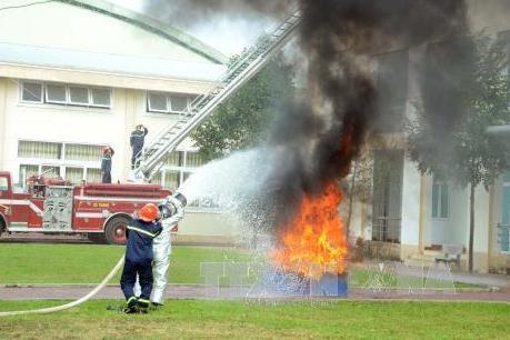 Giả danh cán bộ, chiến sĩ công an mời mua thiết bị phòng cháy chữa cháy
