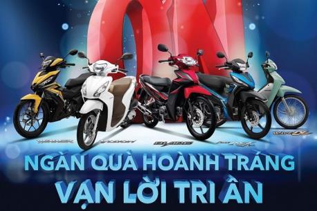 Honda Việt Nam khuyến mại khủng cho khách mua xe máy