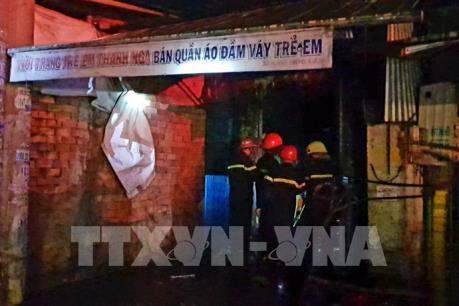Khu nhà trọ cháy lớn trong đêm khiến một người tử vong ở Thành phố Hồ Chí Minh