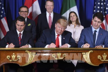 """""""Điều khoản Trung Quốc"""" trong hiệp định NAFTA mới"""