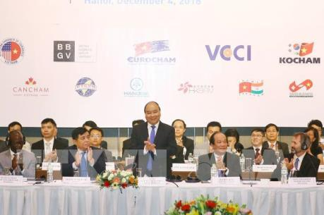 Thủ tướng Nguyễn Xuân Phúc: Nỗ lực khơi thông điểm nghẽn cho doanh nghiệp