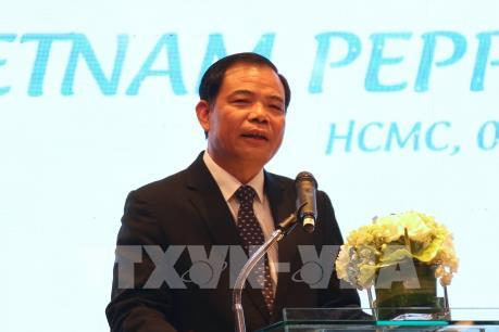 Bộ trưởng Nguyễn Xuân Cường: Tái cơ cấu ngành hồ tiêu theo hướng chất lượng cao