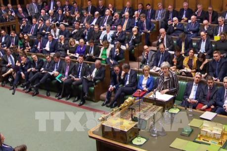 Thủ tướng Anh thúc đẩy Quốc hội thông qua thỏa thuận Brexit