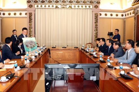 Lotte cam kết hỗ trợ dự án khởi nghiệp của doanh nghiệp TP Hồ Chí Minh