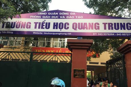 Diễn biến vụ giáo viên bị tố yêu cầu học sinh tát bạn cùng lớp ở Hà Nội