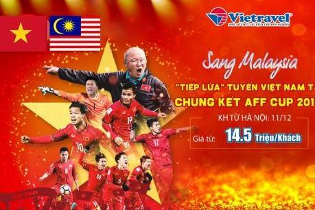 Vietravel triển khai tour cổ vũ đội tuyển Việt Nam tranh cúp vô địch AFF Cup 2018