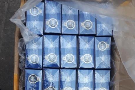 Bộ đội Biên phòng Quảng Ninh thu giữ 11 nghìn gói thuốc lá điếu nhập lậu