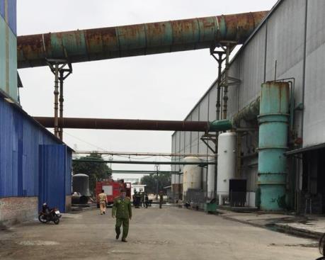 Nổ lớn tại Công ty công nghiệp nặng Cửu Long khiến 11 người thương vong