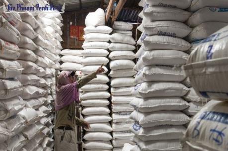 Nhiều yếu tố làm xuất khẩu gạo của Campuchia sụt giảm