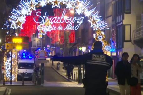 Cảnh báo an ninh sau vụ nổ súng tại khu chợ Giáng sinh ở Pháp