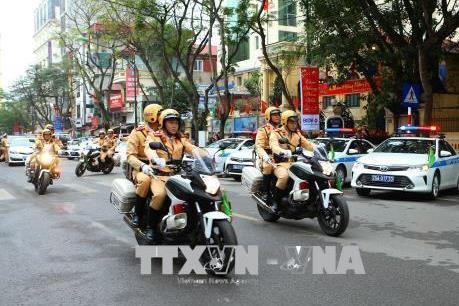 Mở cao điểm về trật tự an toàn giao thông dịp lễ, Tết và Xuân 2019