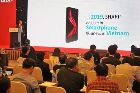 Sharp ra mắt nhiều sản phẩm ứng dụng công nghệ mới nhất tại Việt Nam