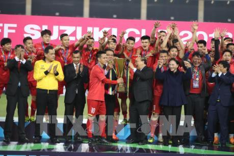 Những hình ảnh đáng nhớ trận Chung kết AFF cup 2018
