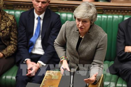 Thủ tướng Anh tuyên bố thời gian tổ chức bỏ phiếu về Brexit tại quốc hội