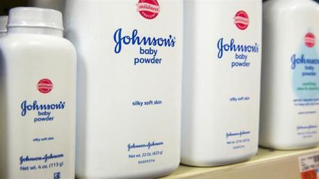 Thu giữ nhiều mẫu phấn rôm có chứa a-mi-ăng của Johnson & Johnson