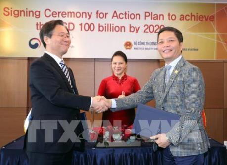 Kim ngạch thương mại Hàn Quốc - Việt Nam tăng 7%