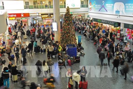 Anh: 110.000 hành khách bị hủy chuyến tại sân bay Gatwick