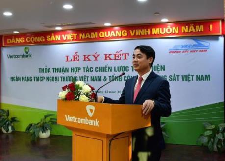 Vietcombank tài trợ hơn 260 tỷ đồng cho CTCP Vận tải Đường sắt Sài Gòn