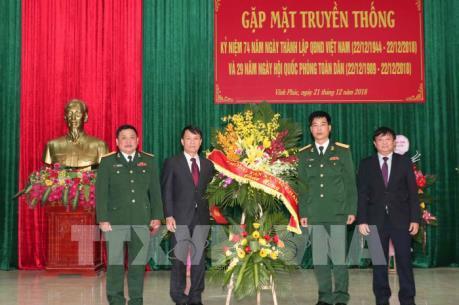 TTXVN chúc mừng Sư đoàn 304 nhân Ngày thành lập QĐND Việt Nam