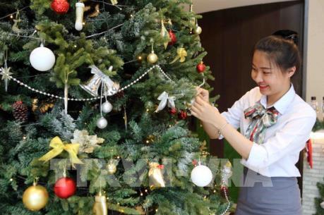 Sôi động thị trường mùa Giáng sinh