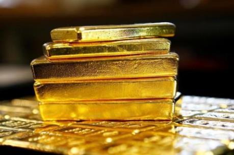 Giá vàng giảm 0,1% phiên đầu tuần tại thị trường châu Á