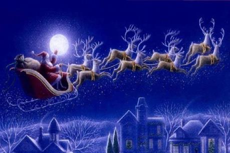 Santa Claus - Ông già Noel bắt đầu hành trình phát quà