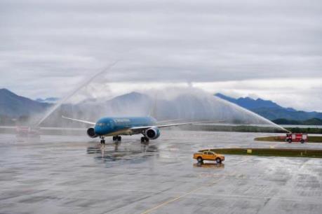 Vietnam Airlines khai trương đường bay Tp. Hồ Chí Minh - Vân Đồn