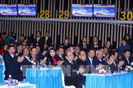 Thủ tướng dự lễ khai trương, thông tuyến 3 dự án hạ tầng trọng điểm tại Quảng Ninh