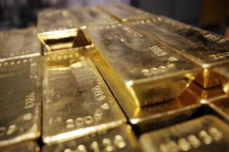 Giá vàng kỳ hạn thế giới ước giảm gần 2% năm 2018