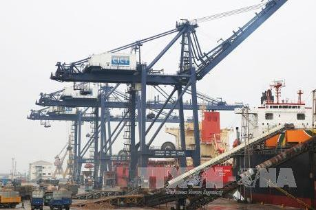 Cảng Cái Lân đón những chuyến hàng đầu tiên trong năm 2019