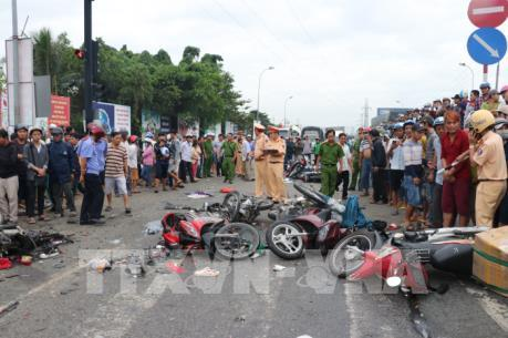 Vụ tai nạn tại Long An: Trung tâm đăng kiểm thông tin về hệ thống thắng xe container