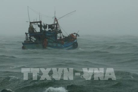 Hoàn lưu bão số 1 gây gió giật cấp 7 trên vùng Tây Nam Vịnh Thái Lan