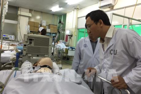 Tạm ứng bồi thường cho các nạn nhân vụ tai nạn tại Long An