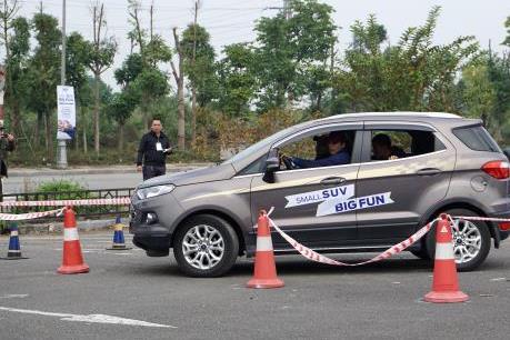 Hàng loạt thử thách chủ xe trong ngày hội trải nghiệm Ford EcoSport