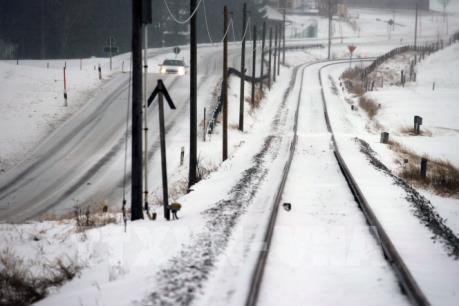 Tuyết phủ trắng nhiều vùng ở Mỹ giữa mùa Thu