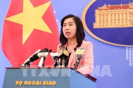 Việt Nam lên tiếng về việc tàu USS McCampbell đi qua khu vực quần đảo Hoàng sa