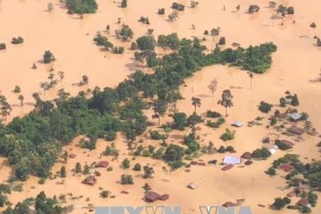 Lào chi gần 59 triệu USD sửa chữa hạ tầng bị hư hỏng do lũ lụt