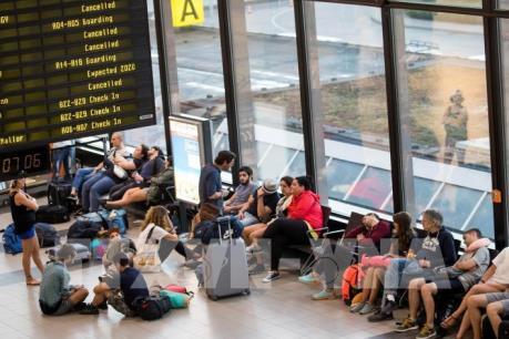 Đức: Hơn 640 chuyến bay phải hoãn, hủy trong ngày