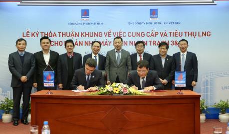PV GAS cung cấp LNG cho Nhà máy Điện Nhơn Trạch 3 & 4