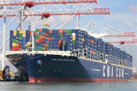 Tàu container lớn nhất thế giới cập cảng Quốc tế Cái Mép