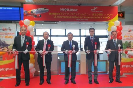Vietjet Air mở đường bay thứ 3 đến Nhật Bản
