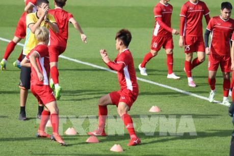 ASIAN CUP 2019: Việt Nam sẵn sàng cho trận gặp Iran