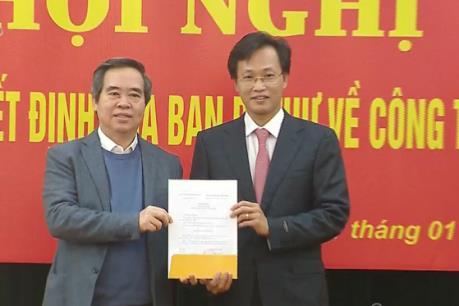 Triển khai Quyết định của Ban Bí thư về công tác cán bộ của Ban Kinh tế Trung ương