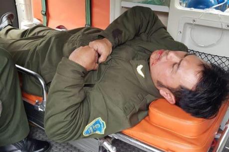 Nhân viên An ninh hàng không Nội Bài bị đối tượng cò mồi taxi dù hành hung