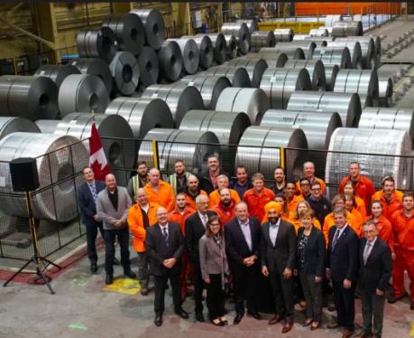 Canada đầu tư 90 triệu CAD vào Algoma Steel