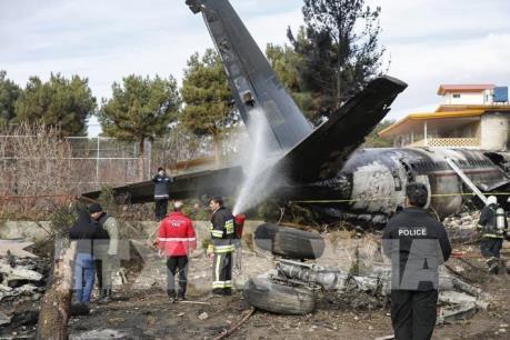 Thông tin mới nhất về vụ rơi máy bay ở Iran