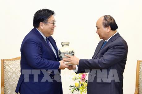 Thủ tướng Nguyễn Xuân Phúc tiếp lãnh đạo các Công ty Mitsui và Honda (Nhật Bản)