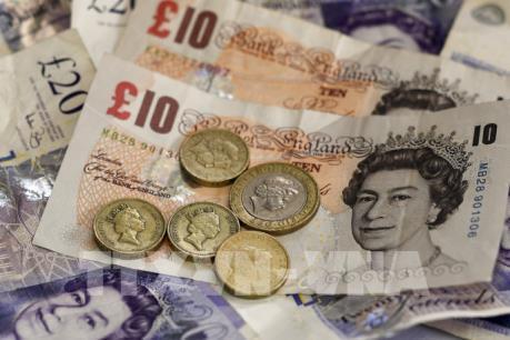 Giá đồng bảng Anh chạm mức thấp nhất 3 tháng so với đồng USD