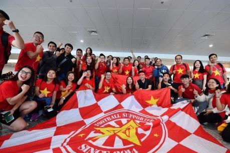 Vietnam  Airlines bay thẳng Dubai đưa cổ động viên cổ vũ đội tuyển Việt Nam
