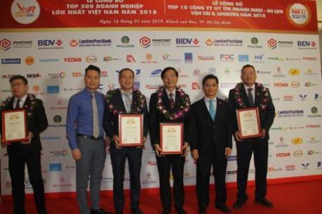 PVN được vinh danh Top 500 Doanh nghiệp lớn nhất Việt Nam